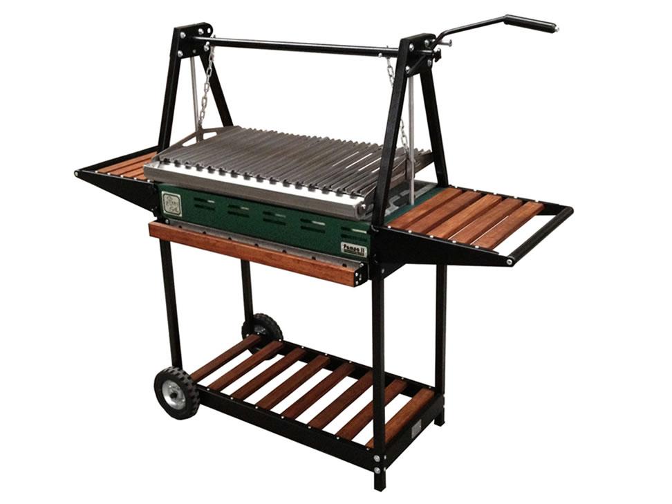 Asador de carb n hobby grill pampa ii elite liverpool es for Asador de ladrillo para jardin