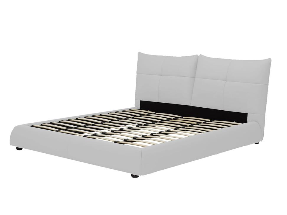 Dubl n cama matrimonial contempor nea blanca liverpool es for Base para cama queen size minimalista