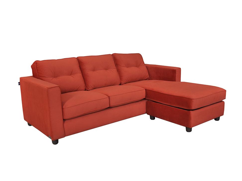 Lady sof contempor neo naranja for Muebles de sala lady lee